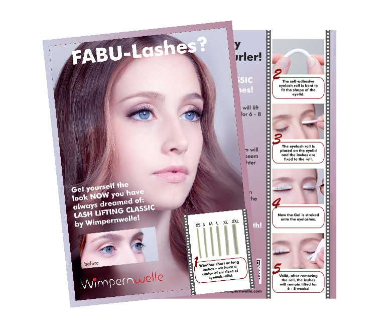 COSTUMER FLYER LASH LIFTING CLASSIC