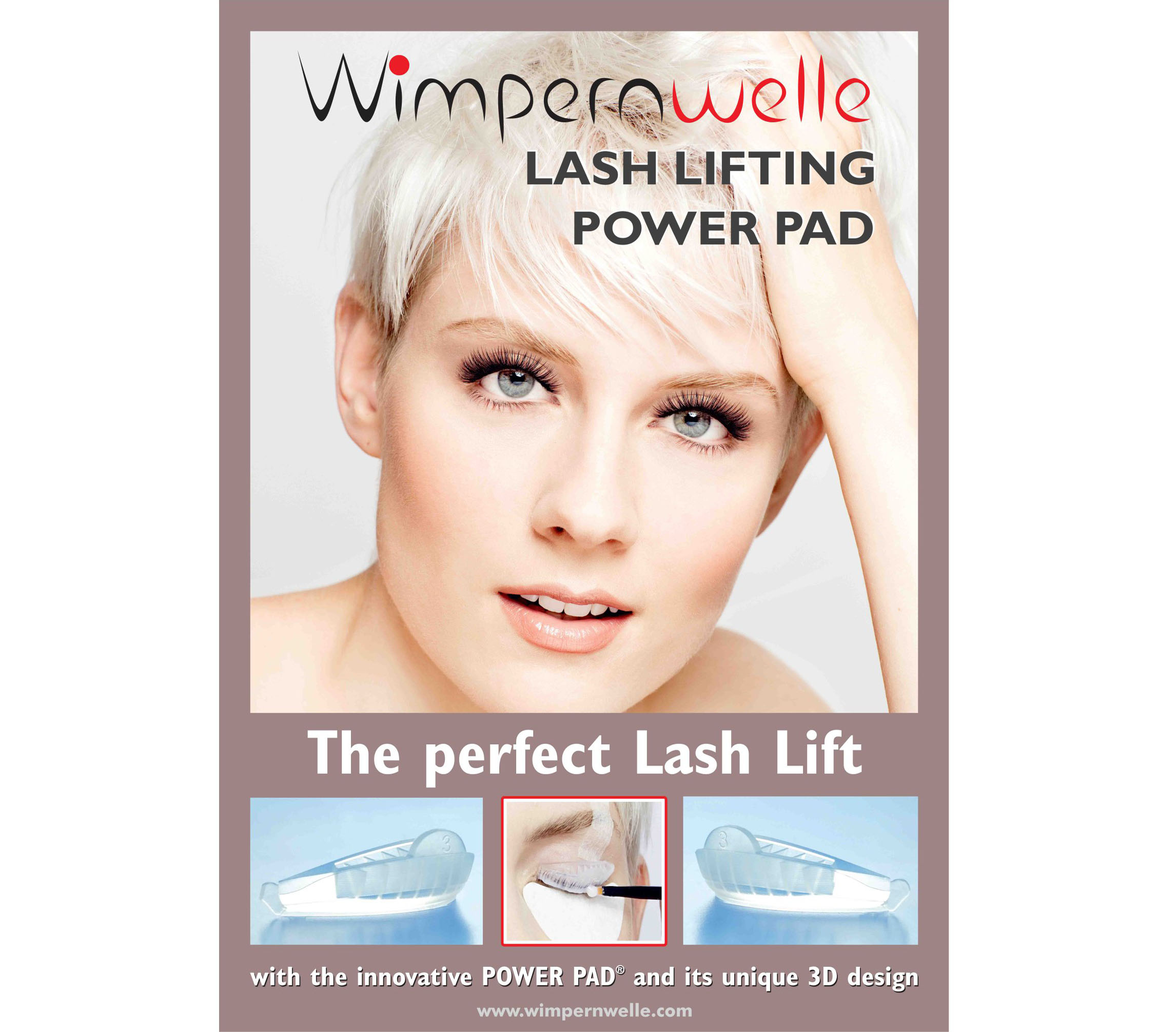 Poster 10 Lash Lifting POWER PAD